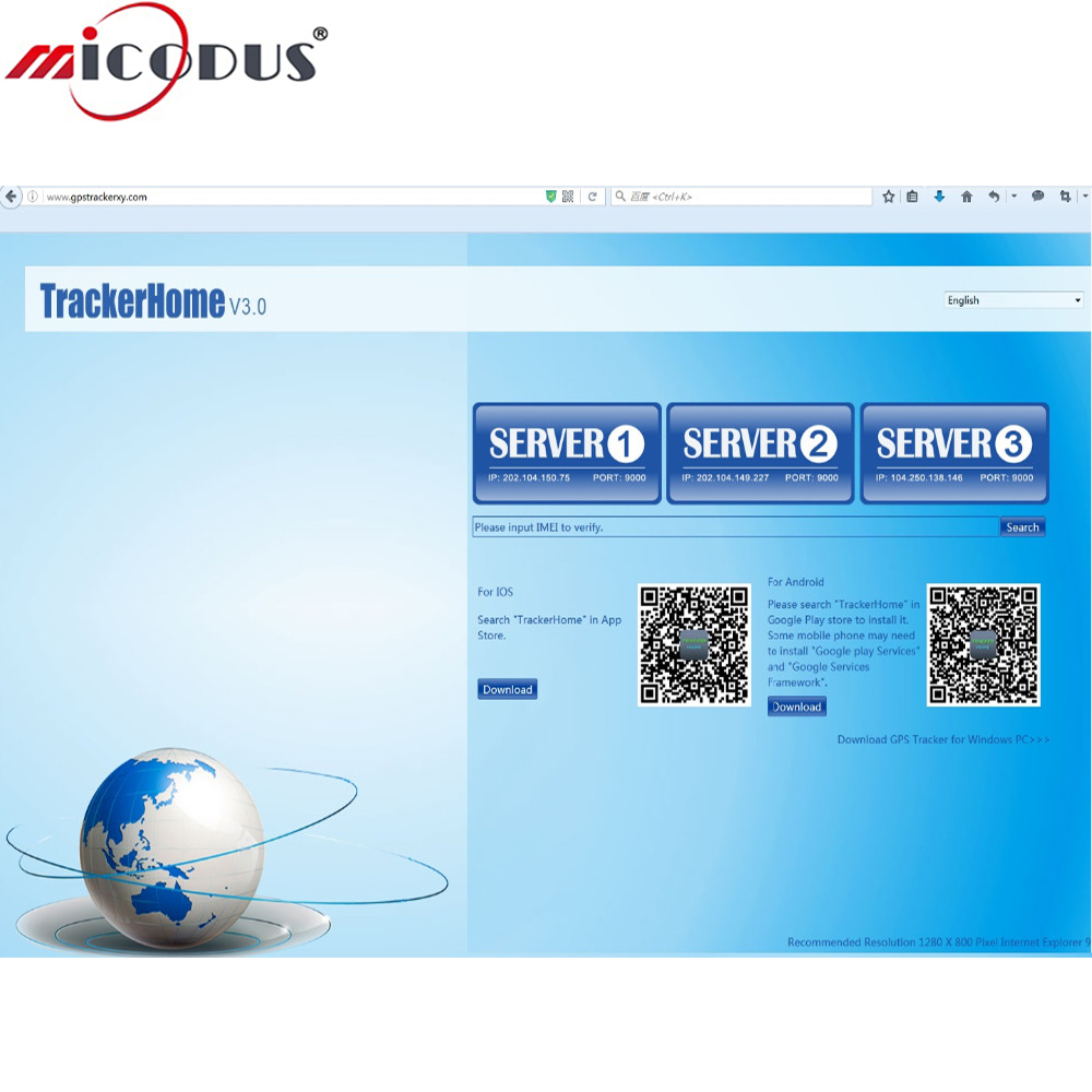 GPS Tracker Web Tracking Platform Software Service IMEI Number Activate For Coban GPS Tr ...