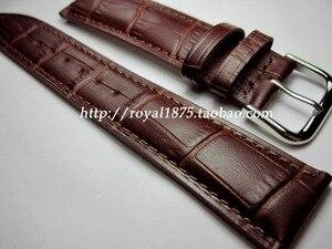 Черный коричневый ремешок для часов из телячьей кожи 12 14 16 18 19 20 21 22 мм для Omega Викторианского цвета Certina Blancpain Iwc Seiko