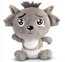 Movie & TV Pleasant Goat and Grey Wolf  about 30 cm little grey wolf plush toys doll gift  w2621