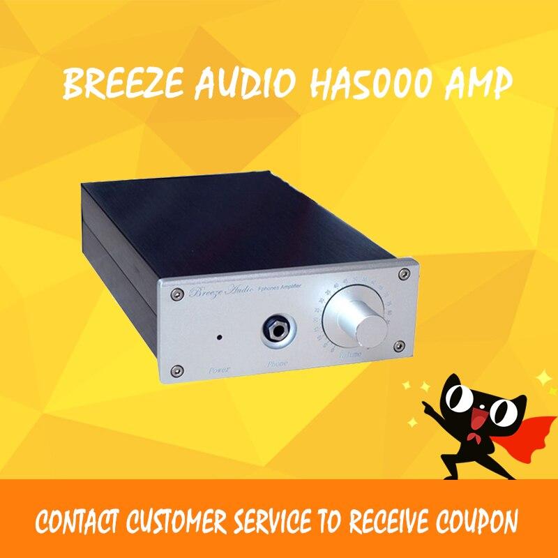 2016 Newest Breeze Audio HA5000 Professional Pure Class A Headphone Amplifier Stereo Hifi Digital Earphone AMP Black/Sliver портал сайт