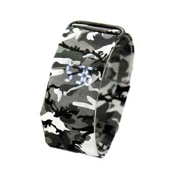 2020 Trendy DIGITAL LED Watch Paper Water/Tear Resistant Watch Perfect Gift 14 Variants  4
