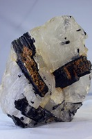 (3790g) 100% Natural Black tourmaline QUARTZ Crystal Specimen original stone
