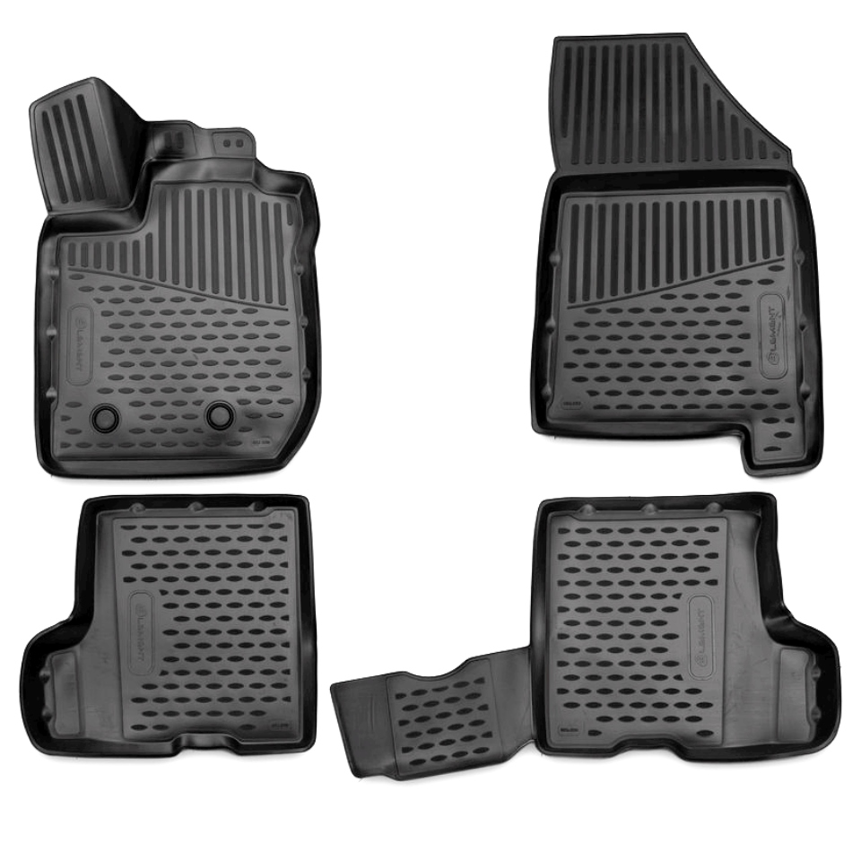 3D Floor mats for Lada Xray 2016-2018 WITH STORAGE BOX under passenger seat Element ELEMENT3D5238210k 3d floor mats for lada largus element f620250e1