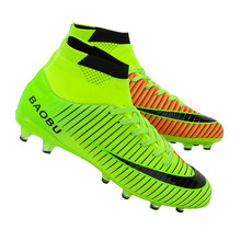 660132b7 Открытый Для мужчин детские футбольные бутсы обувь TF/FG Футбол ботильоны  Топ футзал футбольные бутсы спортивные кроссовки EU ра.