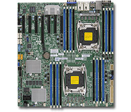 OEM X10DRH-CT Gigabit Ethernet Port E5 Dual 2011 Pin C612sas3sli3108 Server Motherboard Used Like New