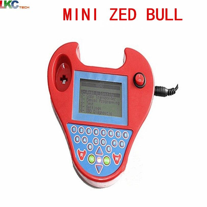 Цена за 2017 Лидер продаж Высокое качество Мини Zedbull Смарт Zed-BULL ключ транспондера программист мини Zed Bull ключевой программист Бесплатная доставка