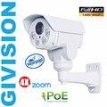 HD 1.3MP mini ptz ip camera POE 960p hd bullet cctv security outdoor waterproof pan tilt 4x auto zoom night vision camera onvif