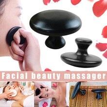 1 Pcs Mushroom Shape Massage Stone Lava Basalt Hot for Spa Therapy WS99