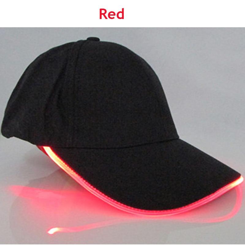 lighted baseball hats cap manufacturers led caps men and women font light glow