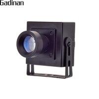GADINAN Mini AHD Camera 2MP 1080P CCTV AHDH Camera MetalShell Indoor Security Surveillance Security Box Color