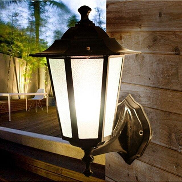 europaischen stil retro wandleuchte aussenleuchten villa With französischer balkon mit japanische lampen garten