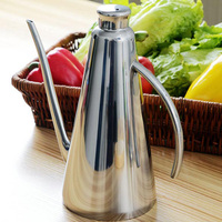OCEA Stainless Steel Oil Pot Vinegar Bottle Container Storage Kitchenware Small