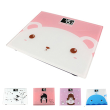 Mini good weighing scale Cartoon Physique scale help weight reduction Measuring instruments house use A2