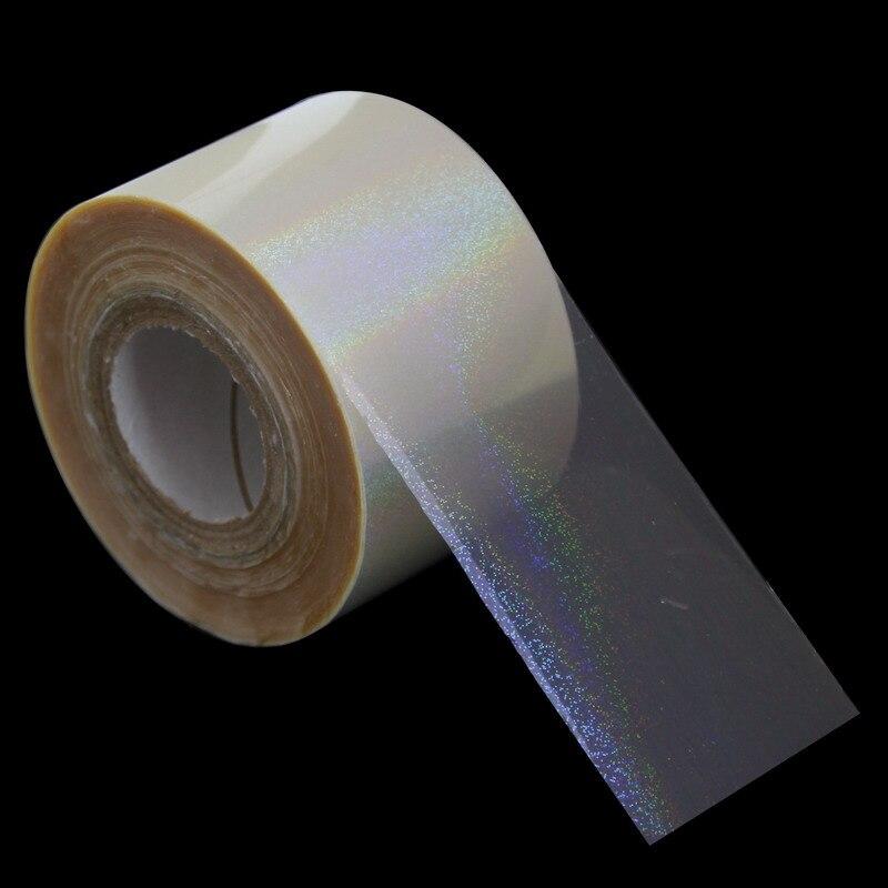 120m*4cm Transfer Foil Paper Sticker Tip Decorations Rainbow ...