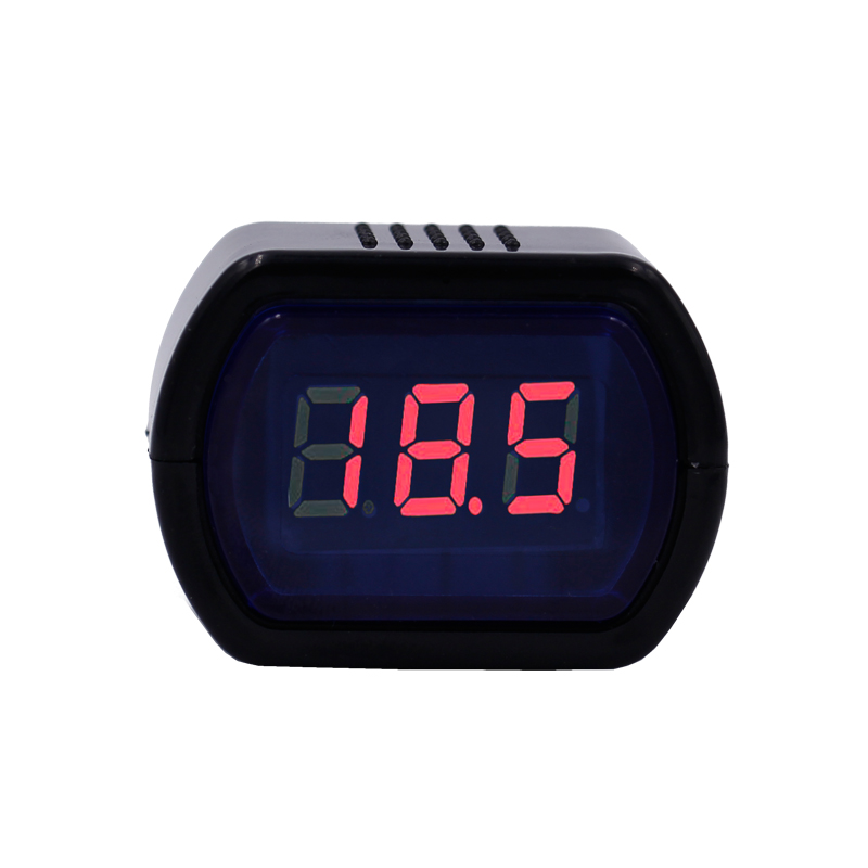 <font><b>10pcs</b></font>/lot DC 12V 24V Car Digital LED Battery Voltage Electric Volt Meter Monitor Indicator Tester <font><b>Voltmeter</b></font> image