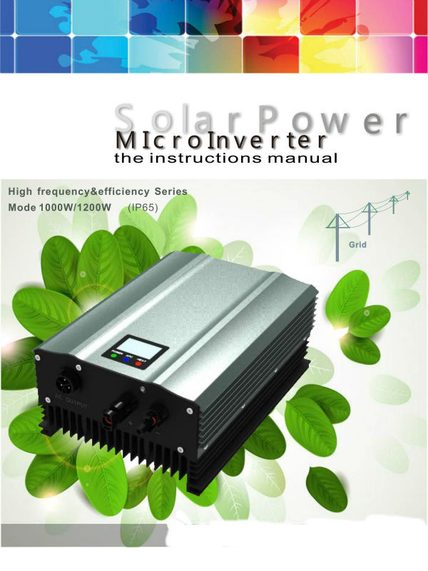 High Efficiency Micro Inverter 50-86VDC,1000W,220VAC,50Hz/60Hz ,20 Years Service Life Applicable To Various Countries For Solar tp760 765 hz d7 0 1221a