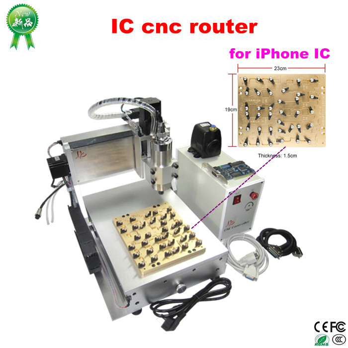 LY IC cnc router CNC Milling Polishing Engraving Machine for iPhone Main Board Repair powers master handbook of ic circuits paper on ly