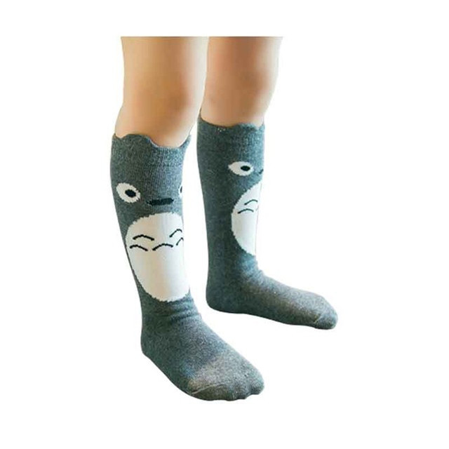 Totoro Unisex Cotton Long Socks for Kids