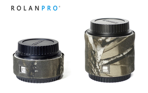 Image 1 - ROLANPRO カメラレンズ迷彩レインカバーレインコート一眼レフカメラ用バーロー銃服カメラバーロー保護スリーブ