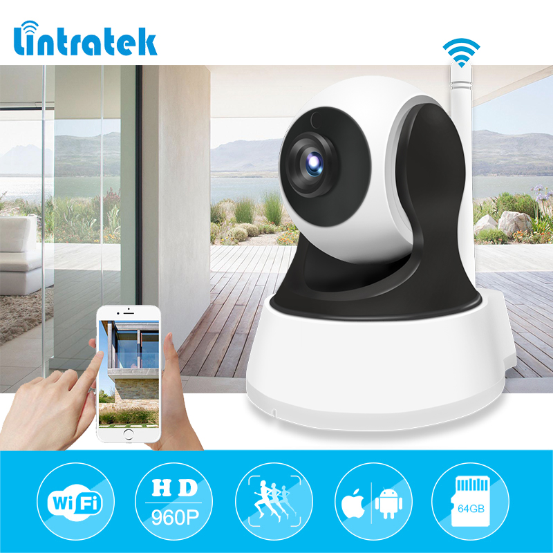 lintratek IP Camera Wi-Fi Wireless Wifi Security CCTV Camera hd 960P Night Vision P2P Onvif Motion Detection Surveillance Camara wifi ip camera wi fi mini cctv onvif p2p wireless hd 720p security home surveillance camera night vision hd ip cam lintratek
