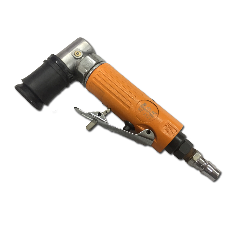 Outils pneumatiques Angle droit 90 degrés Mini réparation Angle voie ponceuse à Air Machine de polissage pneumatique 1 pouce Pad