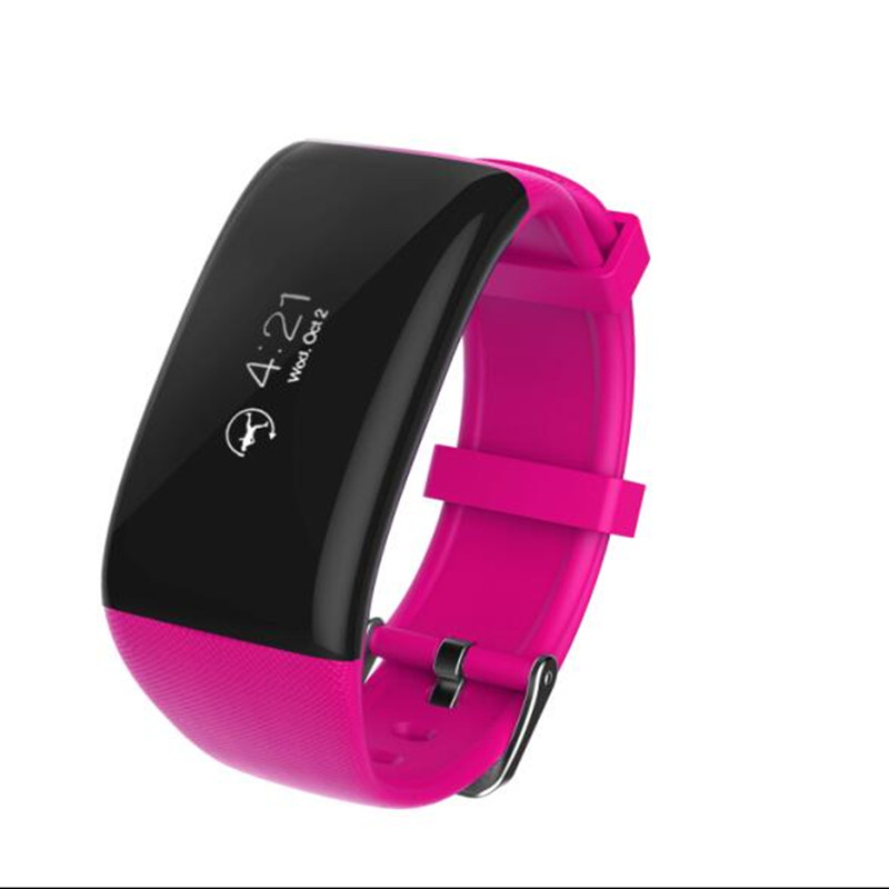 Surmos X16 font b Smartwatch b font IP67 Waterproof Heart Rate Monitor Pedometer Colck sleep tracker