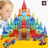 252pcs Mini Magnetic Designer Construction Set Model Building Toy Plastic Magnetic Blocks Educational Toys For Children
