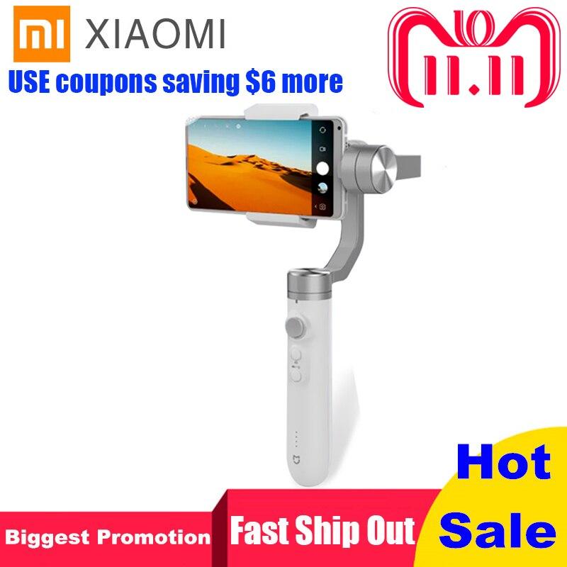 Xiaomi Mijia 3 Axis Handheld Gimbal Stabilizer 5000mAh Battery for Action Camera and Phone Stabilizer VS Feiyu Tech ZHI YUN feiyu tech α2000 3 axis handheld gimbal for dslr camera