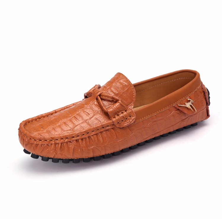 2016 KUYUPP Fashion Genuine Leather Men Loafers Casual Slip On Flats Summer Flat Heels Men Driving Shoes mocassin homme H48 (24)