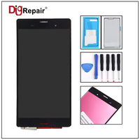 5 2 Black For Sony Xperia Z3 L55t D6603 D6643 D6653 LCD Display Touch Screen Digitizer