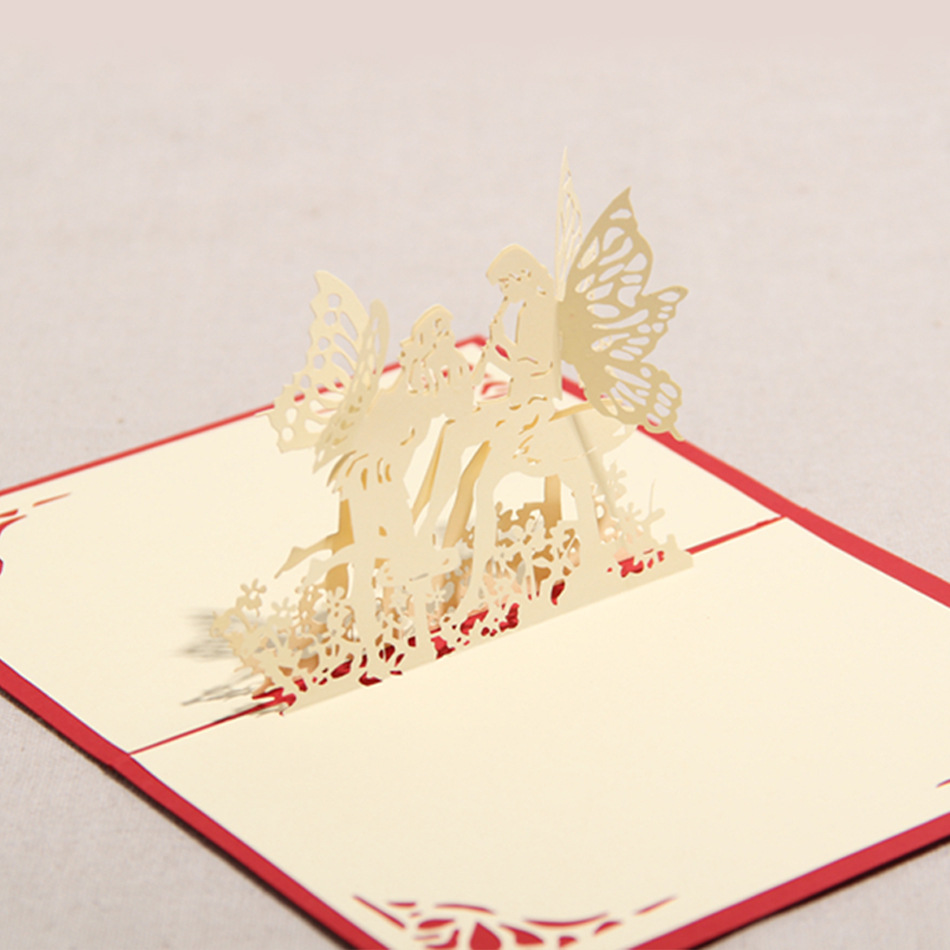 10 Pieceslotcreative Diy Handmade 3d Angel Greeting Cards
