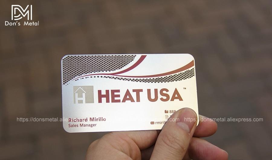 Us 141 05 9 Off High Grade Metall Visitenkarte Metall Mitgliedschaft Karte Personifizierte Visitenkarte Design Edelstahl Visitenkarte In