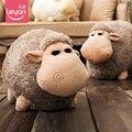 Candice guo! super lindo juguete de peluche de dibujos animados mengmeng ovejas cordero gordo encantador de los pares suave muñeca de peluche de regalo de cumpleaños 1 unid