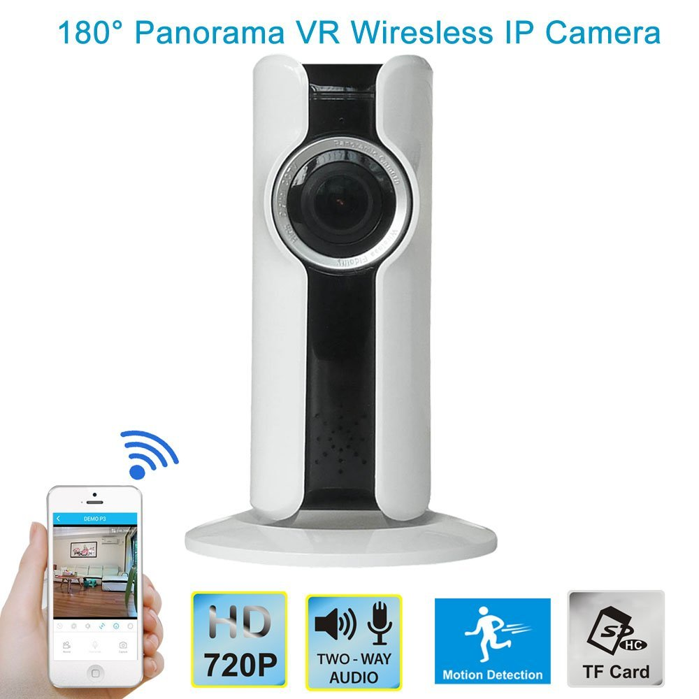 YobangSecurity 720P VR Wifi Wireless Security Camera 1.44mm 180 ...