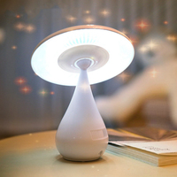Mushrooms Air Purifying Christmas Lights Table Lamps Decoratives Reading Lamp Children Read Plug Dimming Bedroom Desk