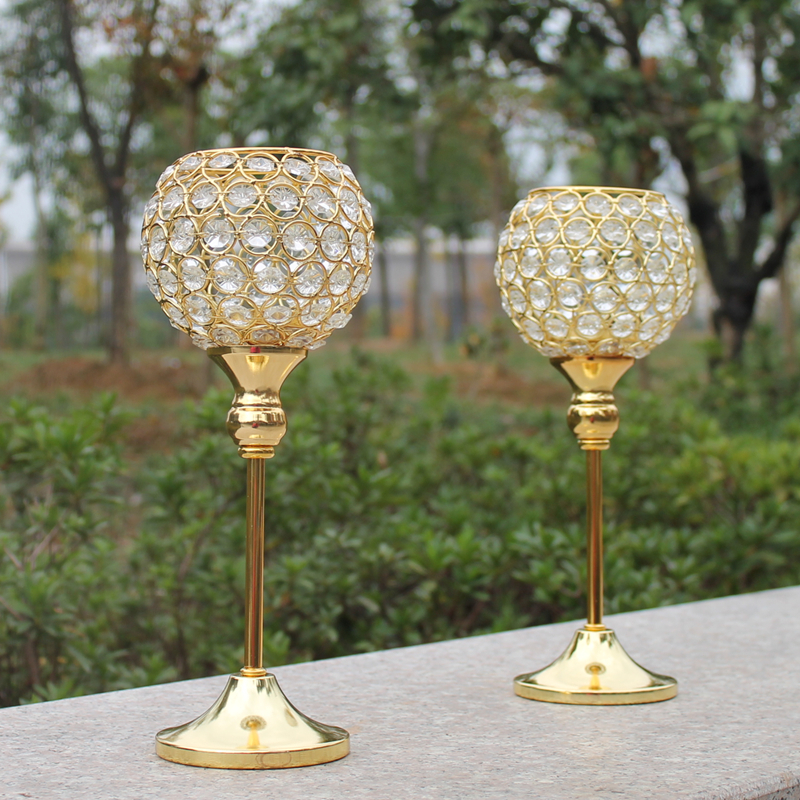 Aliexpress buy new pcs metal gold plated candle