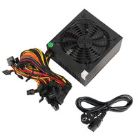 1600w Pc Power Supply ATX Miner Power PSU For ATX Mining Machine Support 6 Pieces Graphics