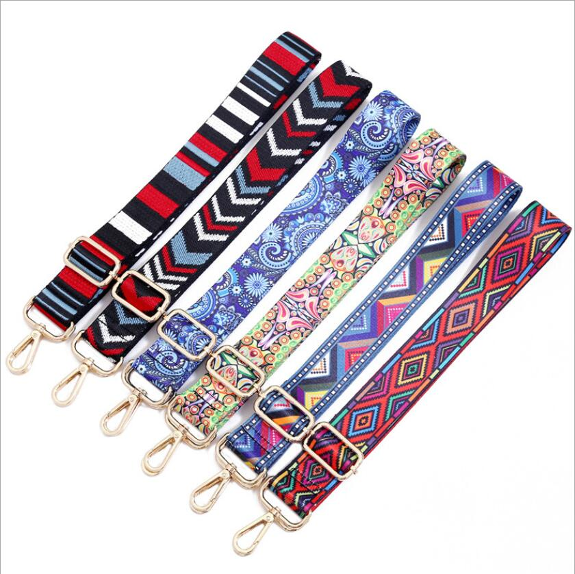 Women Bag Strap Accessory Handles For Handbags Ornament Shoulder Fashion 120cm Cross Body Messenger Woven Bag Strap Adjustable