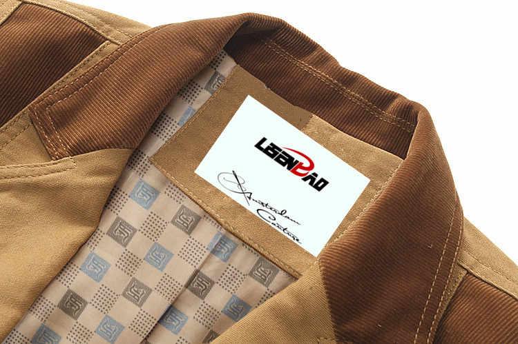 春の秋 2019 メンズカジュアルスーツブレザースリムフィットメンズスーツジャケットカジュアルビジネスプラスサイズ 6XL 男性の綿のコートの上着
