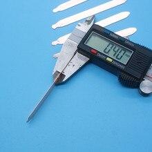 0,4 мм ультратонкая плоская медная теплопроводная трубка «сделай сам», теплопроводная трубка для замачивания, медная теплопроводная трубка ...