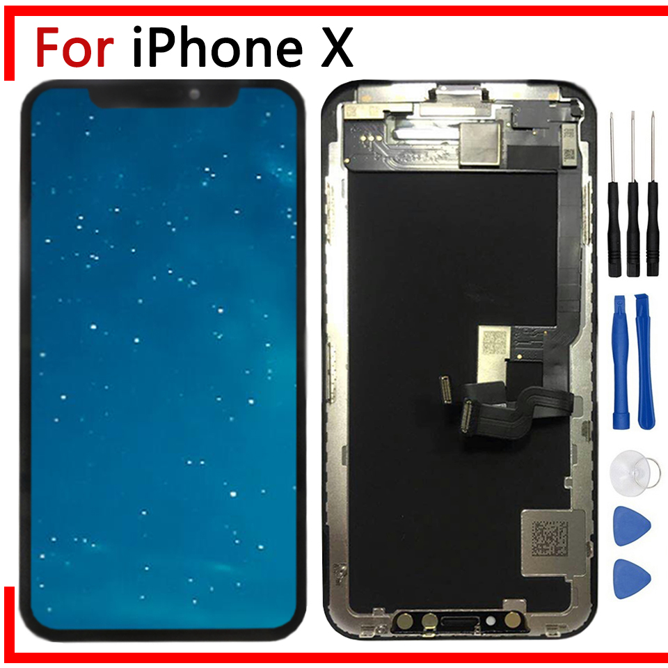 """5.8"""" AMOLED/TFT Display For iPhone X LCD Screen with 3D"""