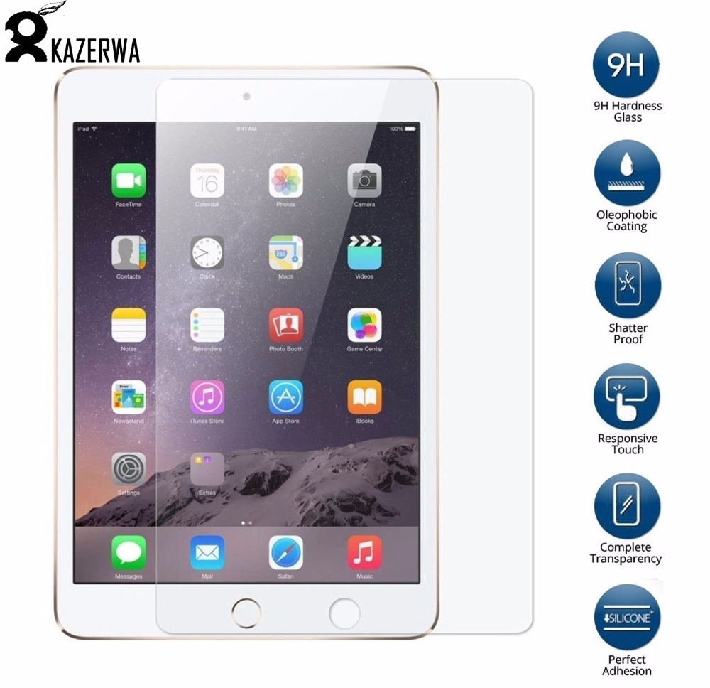Screen Protector Tempered Glass For iPad 2017 9.7 Screen Protective Film Glass For iPad 9.7 2017 A1822 A1823 Screen Protector ...