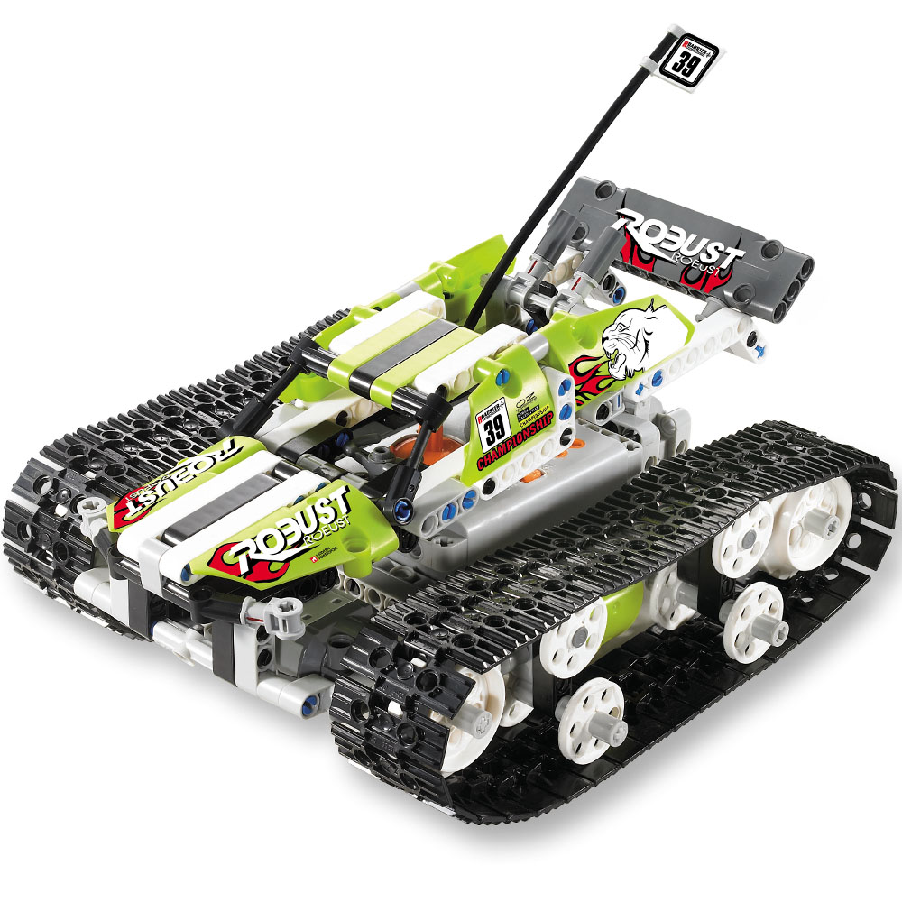 RC Cars DIY Building block high speed cars Flexible Wheels Rotation Remote Control Robot Car Toys for Gifts 2 channels 120 in 1