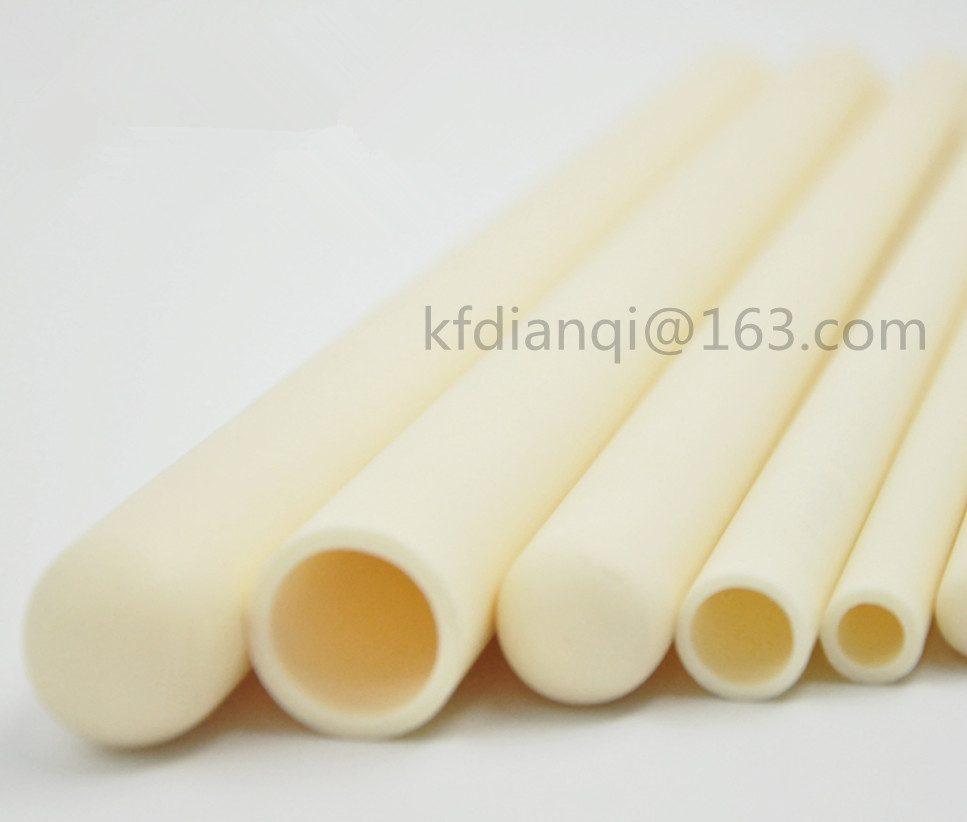 OD*ID=8*5mm Thin Wall Closed End High Purity 99.3% Alumina advanced ceramic Thermocouple Bushing Protecting Tube od id 30 22mm thin wall closed end high purity 99 3% alumina advanced ceramic thermocouple bushing protecting tube