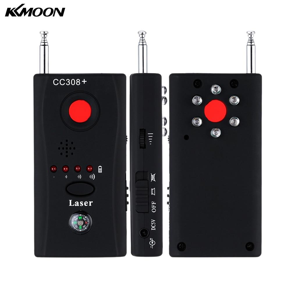 bilder für Vollständige Palette Anti-Spy Bug Erkennen RF Signal Cc308 + Drahtlose Kamera GSM Gerät Finder FNR Voll frequenz Detektor