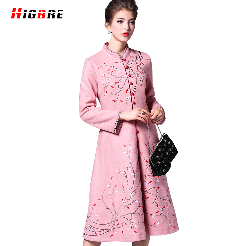 Winter fashion chinese traditional embroidery embroidered