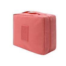 Brand Men Women Travel Pouch Organizer Hanging Wash Toiletry Bag Zipper Portable Cosmetics Bag Multifunction Storage MakeUp Bag