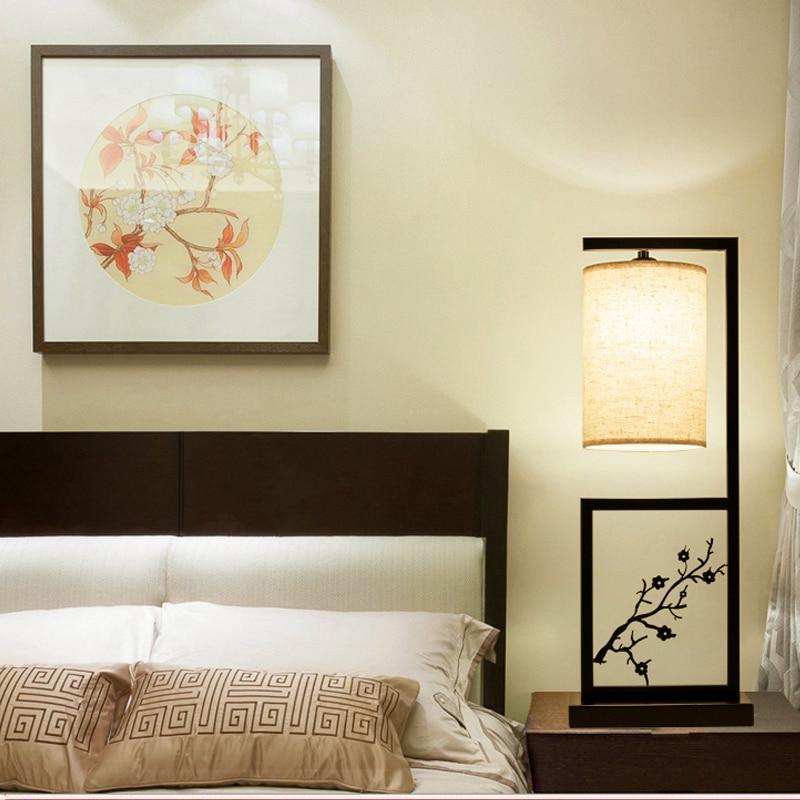 Китайские классические настольные лампы декоративные керамические лампы спальня ночники гладить Столовая Исследование hotel настольная лам...