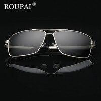 ROUPAI Brand 2017 Luxury Men Polarized Sunglasses Classic Big Frame Male Driving Glasses Vintage Men S