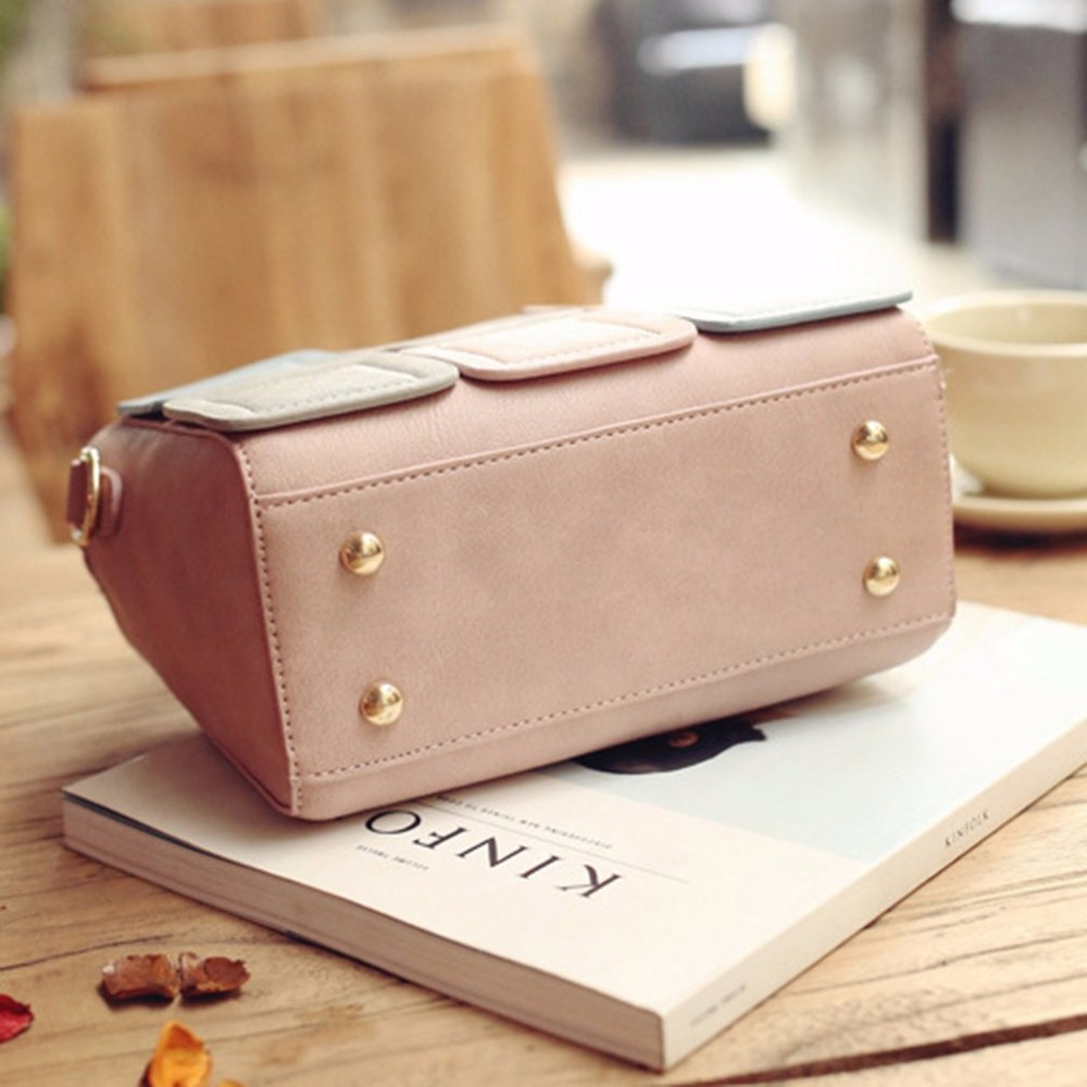 2018 Fashion Women Leather Handbags Messenger Shoulder Bags Luxury Brand  Elegant Woman Geometric Bag Ladies Crossbody Bags Bolsa-in Shoulder Bags  from ... e6d64d64d18f5